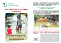 flyer inondations Kerala