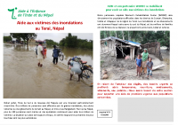 flyer inondations Terai